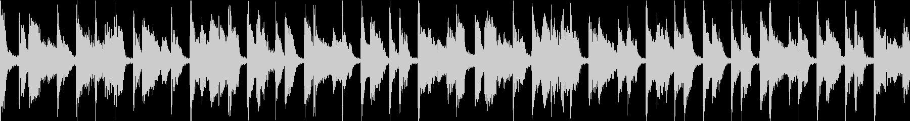 カフェ風 ジャズ ループの未再生の波形