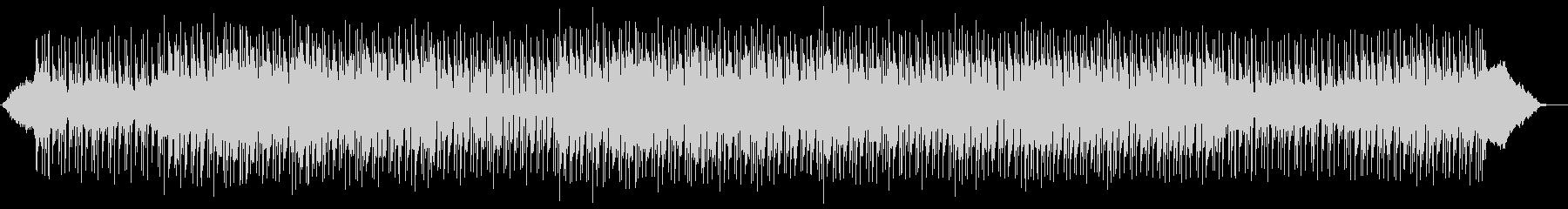 落ち着き広がりのあるシンセサイザーの曲の未再生の波形