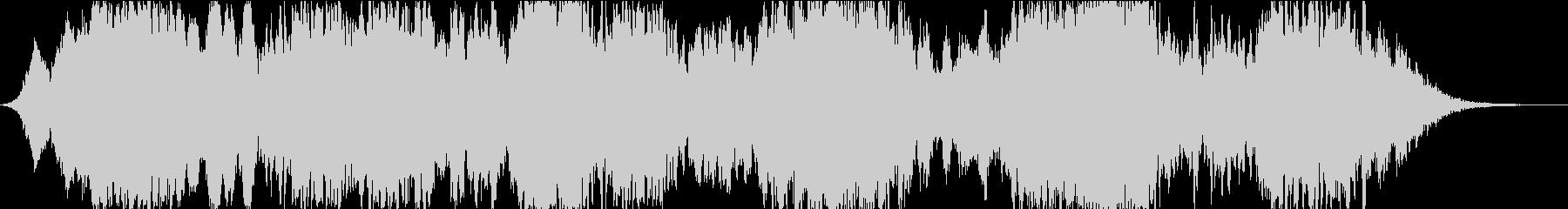 ドローン ダークムービングストリング01の未再生の波形