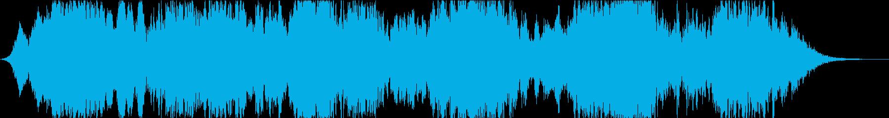 ドローン ダークムービングストリング01の再生済みの波形