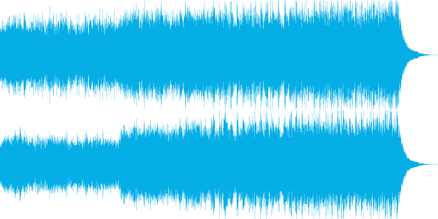 神秘的なシンセボーカルと古楽器の幻想曲の再生済みの波形