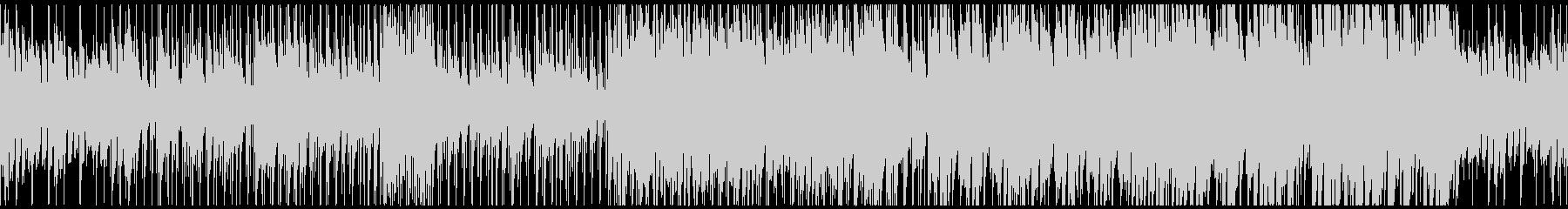 シリアスバトルなピアノジャズ(ループ)の未再生の波形