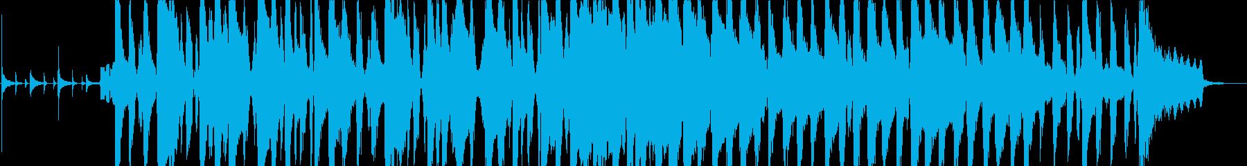 ほのぼのとした日常インストの再生済みの波形