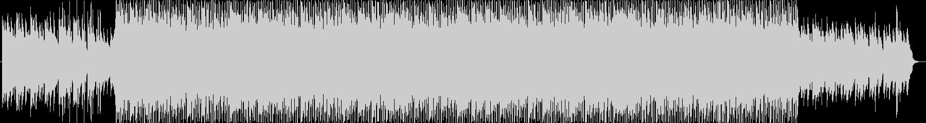リズミックなポップBGMの未再生の波形