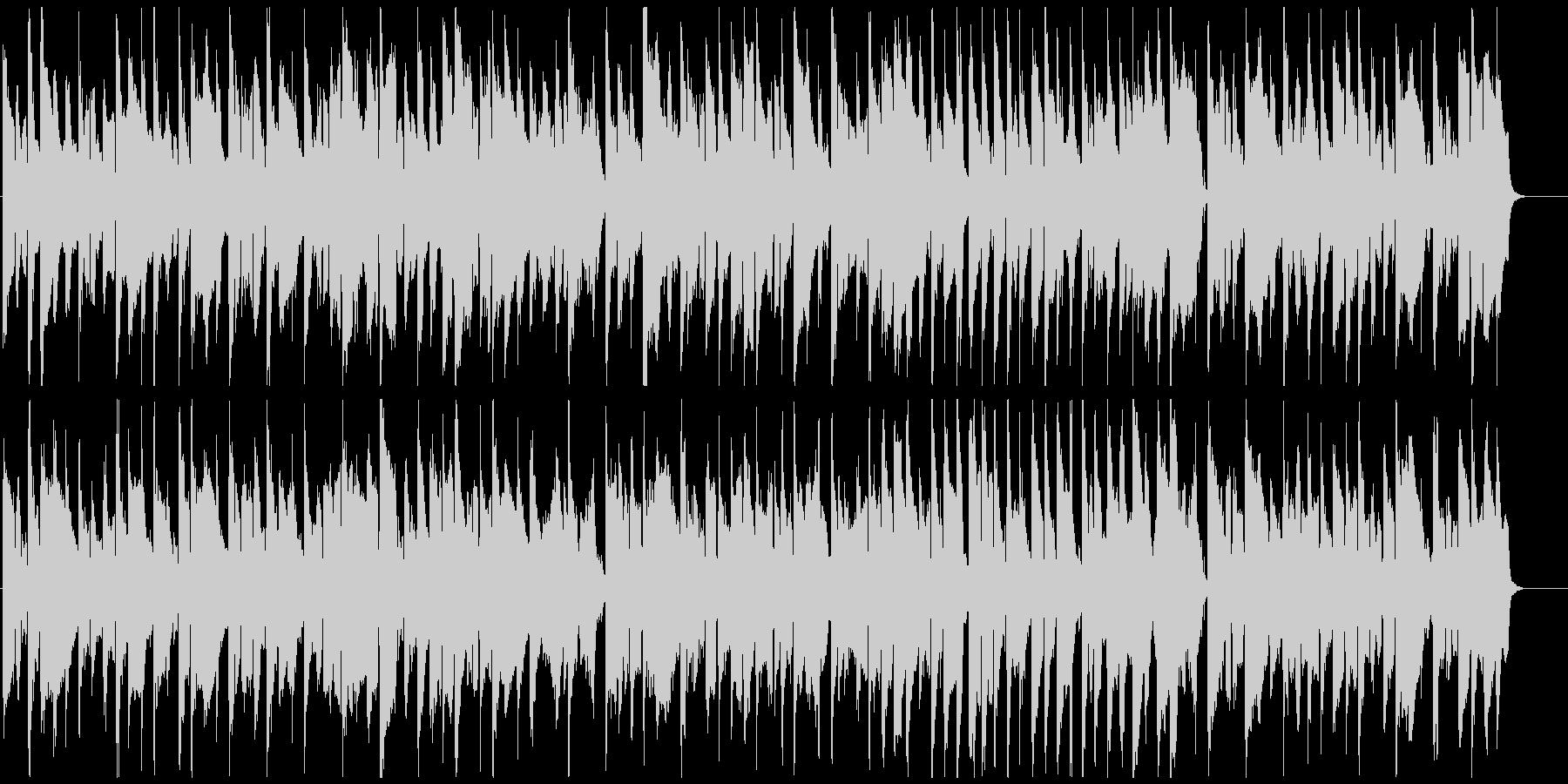 ふにゃふにゃした日常シーン系リコーダー曲の未再生の波形
