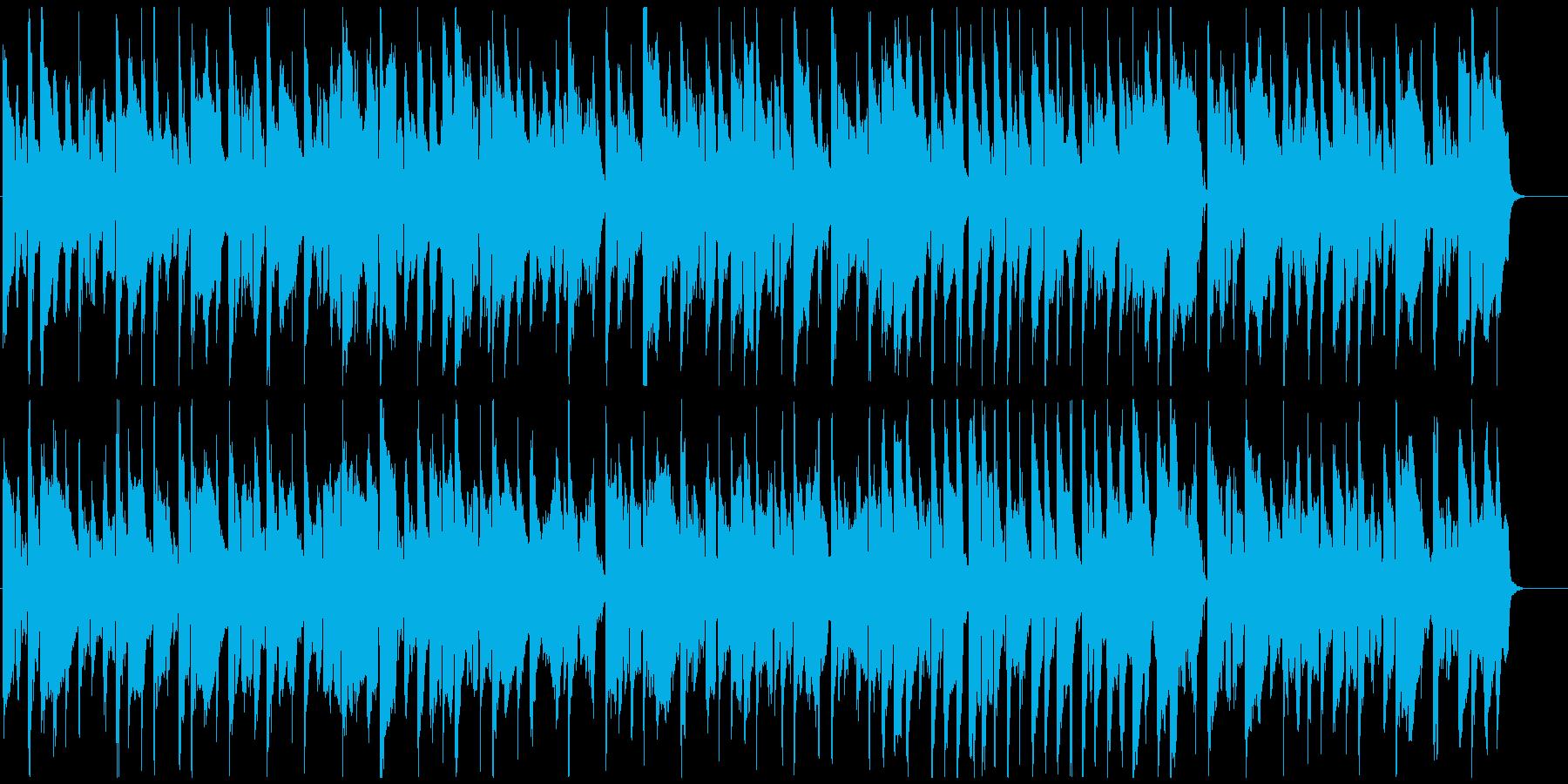 ふにゃふにゃした日常シーン系リコーダー曲の再生済みの波形