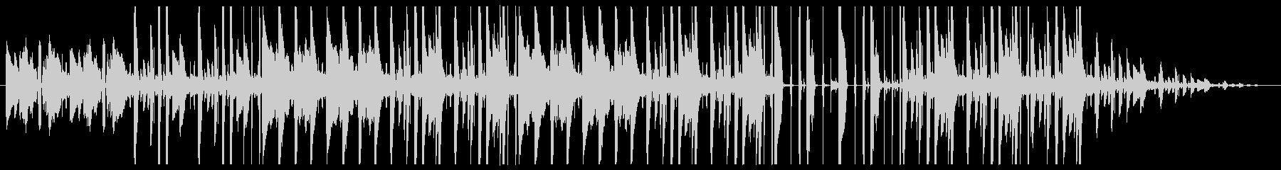 オシャレ・カフェ・チルアウトの未再生の波形