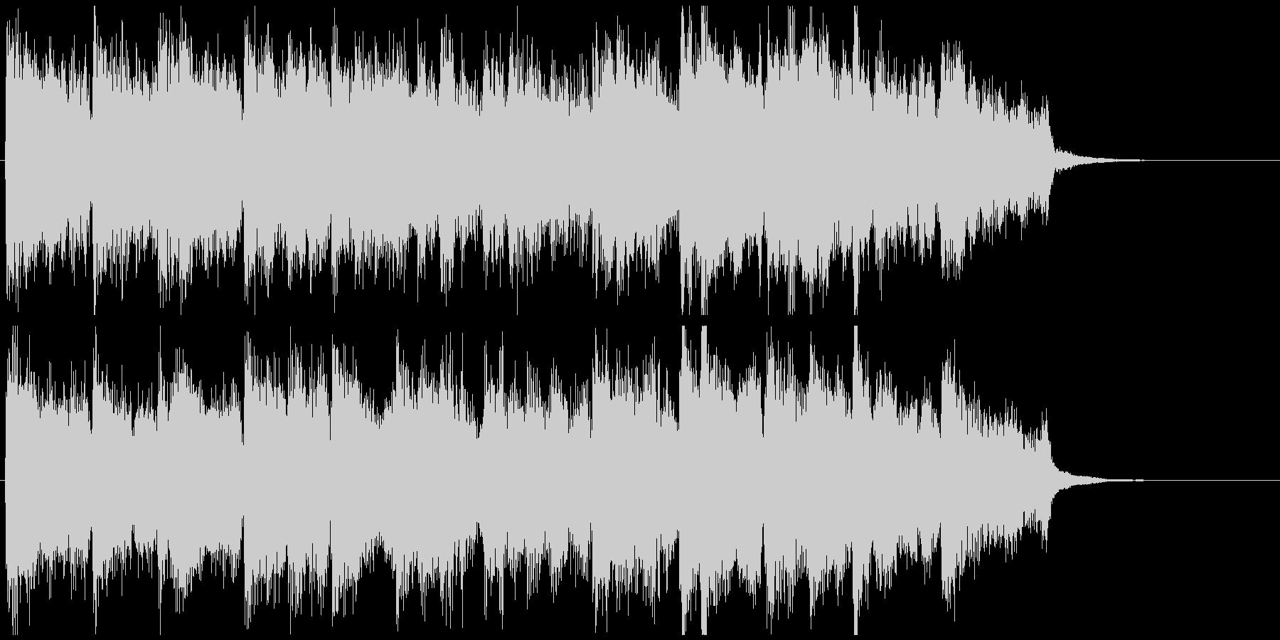 まったり柔らかボサノバ◆CM向け15秒曲の未再生の波形