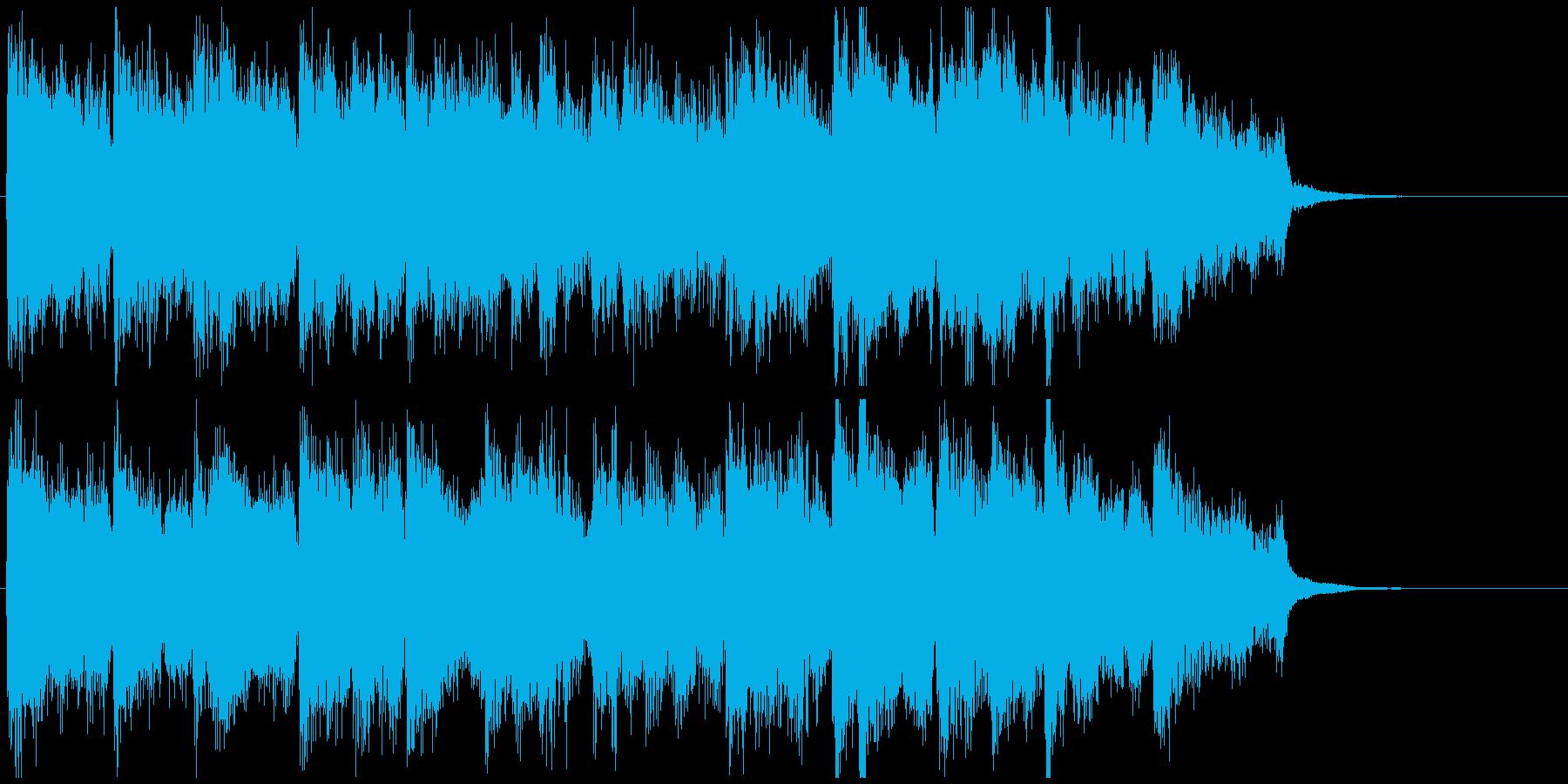 まったり柔らかボサノバ◆CM向け15秒曲の再生済みの波形