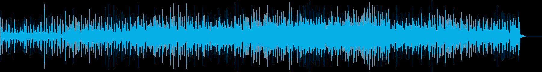 元気が出る前向きなウクレレ曲の再生済みの波形