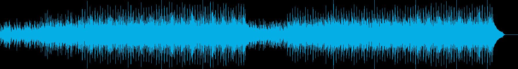ウクレレアコースティックギターとパーカッの再生済みの波形