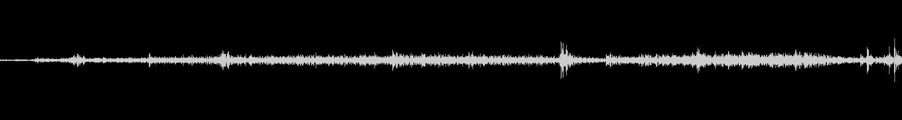 紙をめくる音の未再生の波形