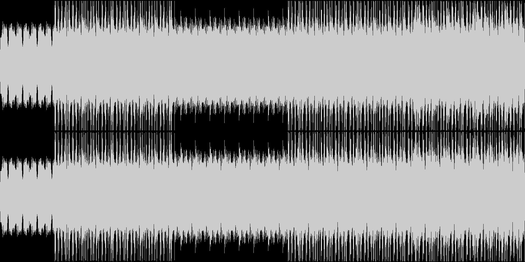 【映像系】レトロHipHopの未再生の波形