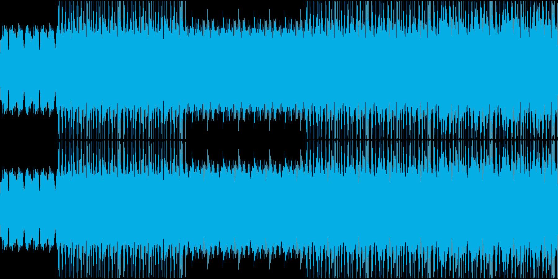 【映像系】レトロHipHopの再生済みの波形
