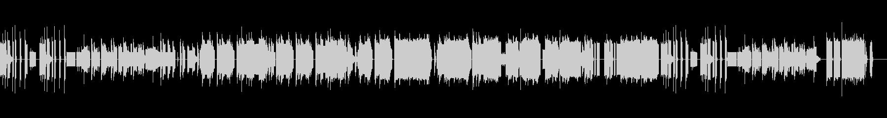 チップチューン演歌(リズム改変版)の未再生の波形