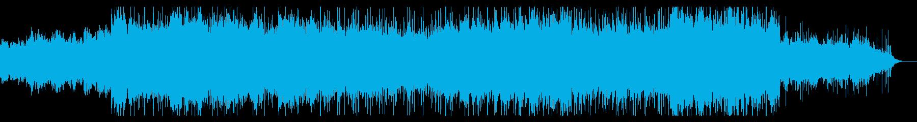 荘厳なインダストリアルの再生済みの波形