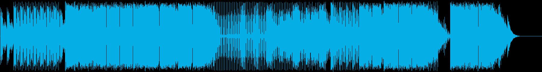 アンビエントな感触でエレクトロニカ...の再生済みの波形