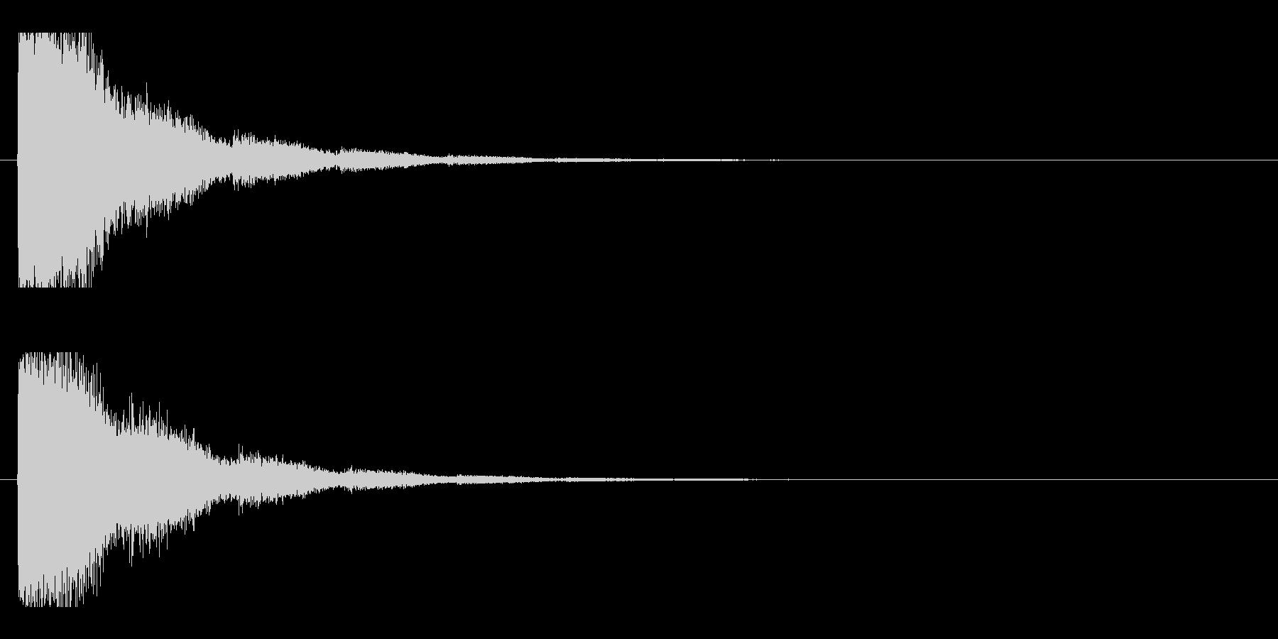 レーザー音-14-2の未再生の波形