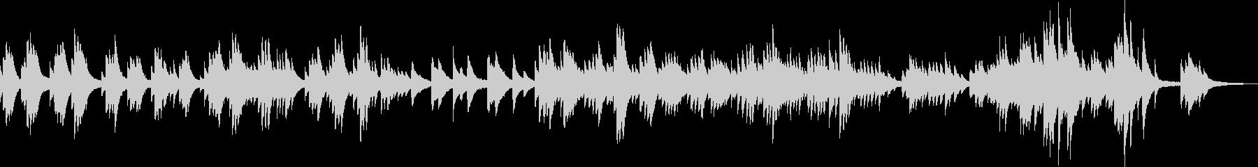 変わらない風景(ピアノソロ)の未再生の波形