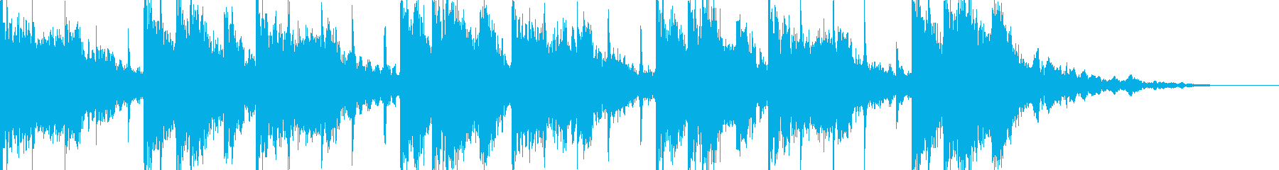 用途様々。17秒ループ音源。の再生済みの波形