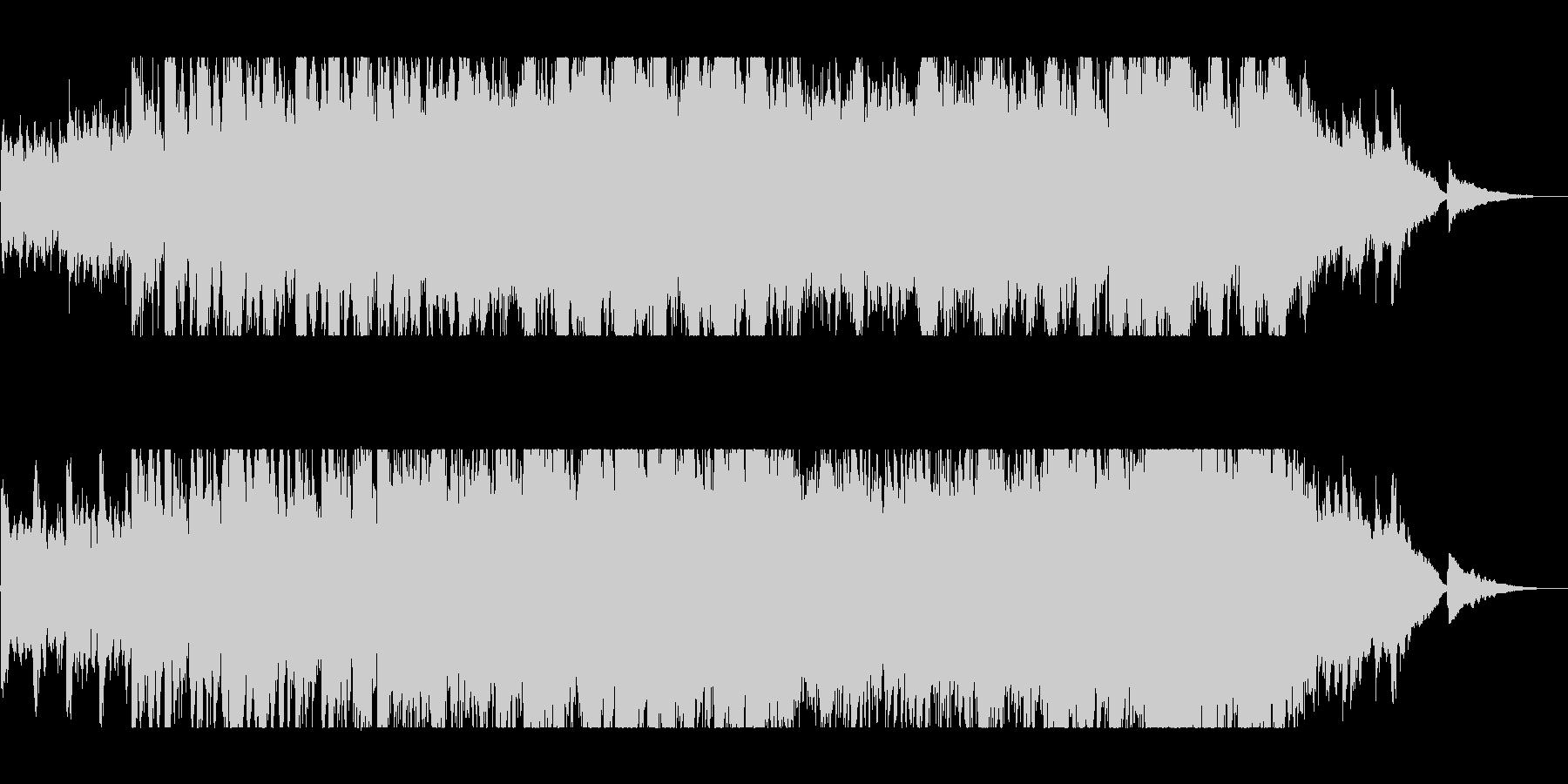 北欧テイストのクラシックポップスの未再生の波形