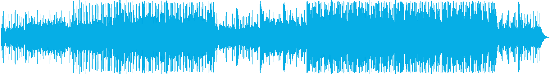 心のゆとりを感じるBGMの再生済みの波形