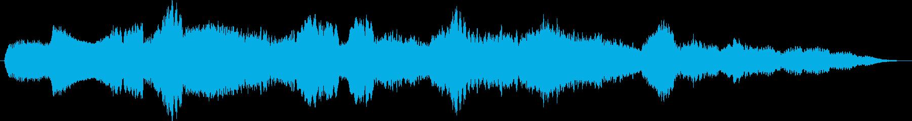 映画オーケストラ/現代楽器。物思い...の再生済みの波形