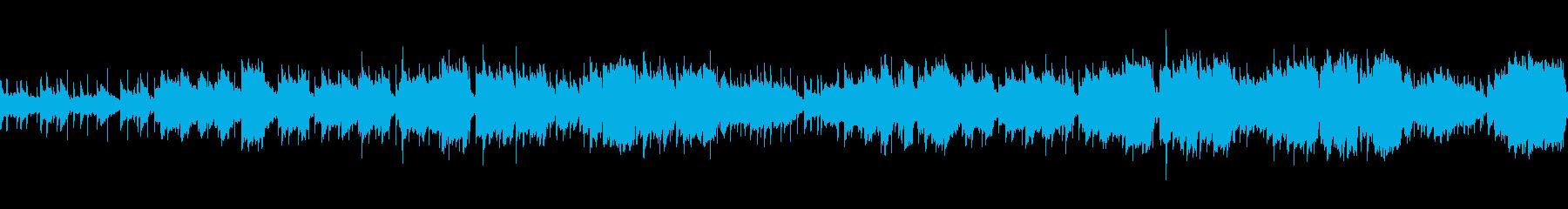 ファンタジーRPG寂しい民族調BGMの再生済みの波形