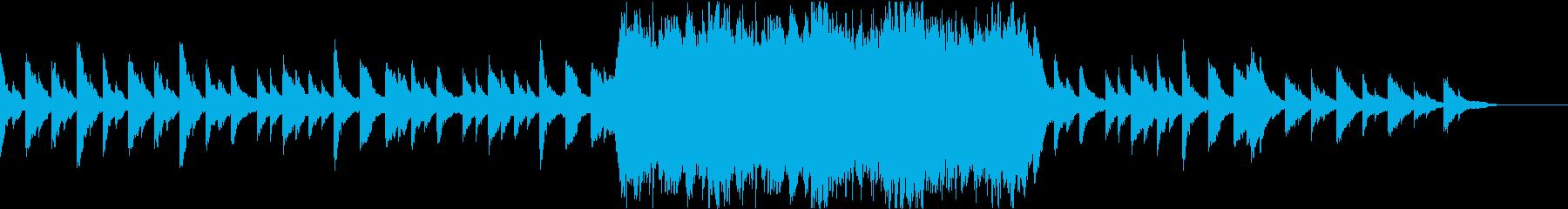 フルストリングパートを伴うインスピレーシの再生済みの波形