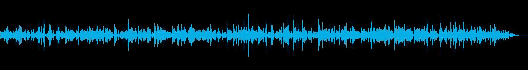 BARやラウンジでゆったり流れるJAZZの再生済みの波形