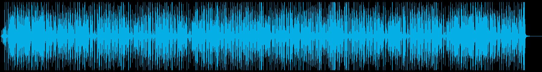 滑稽な日常をコミカルなレゲエ調にの再生済みの波形