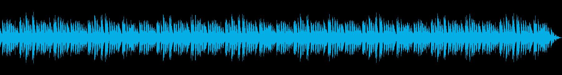 日常シーンの動画BGM リコーダーの再生済みの波形