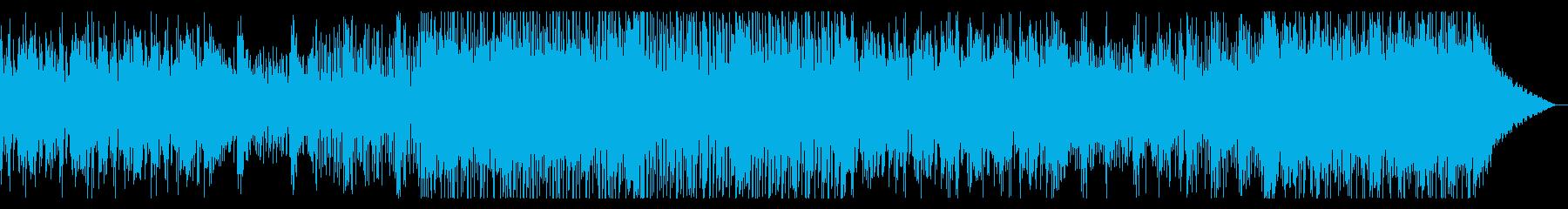 デジタルでディープなIDMの再生済みの波形