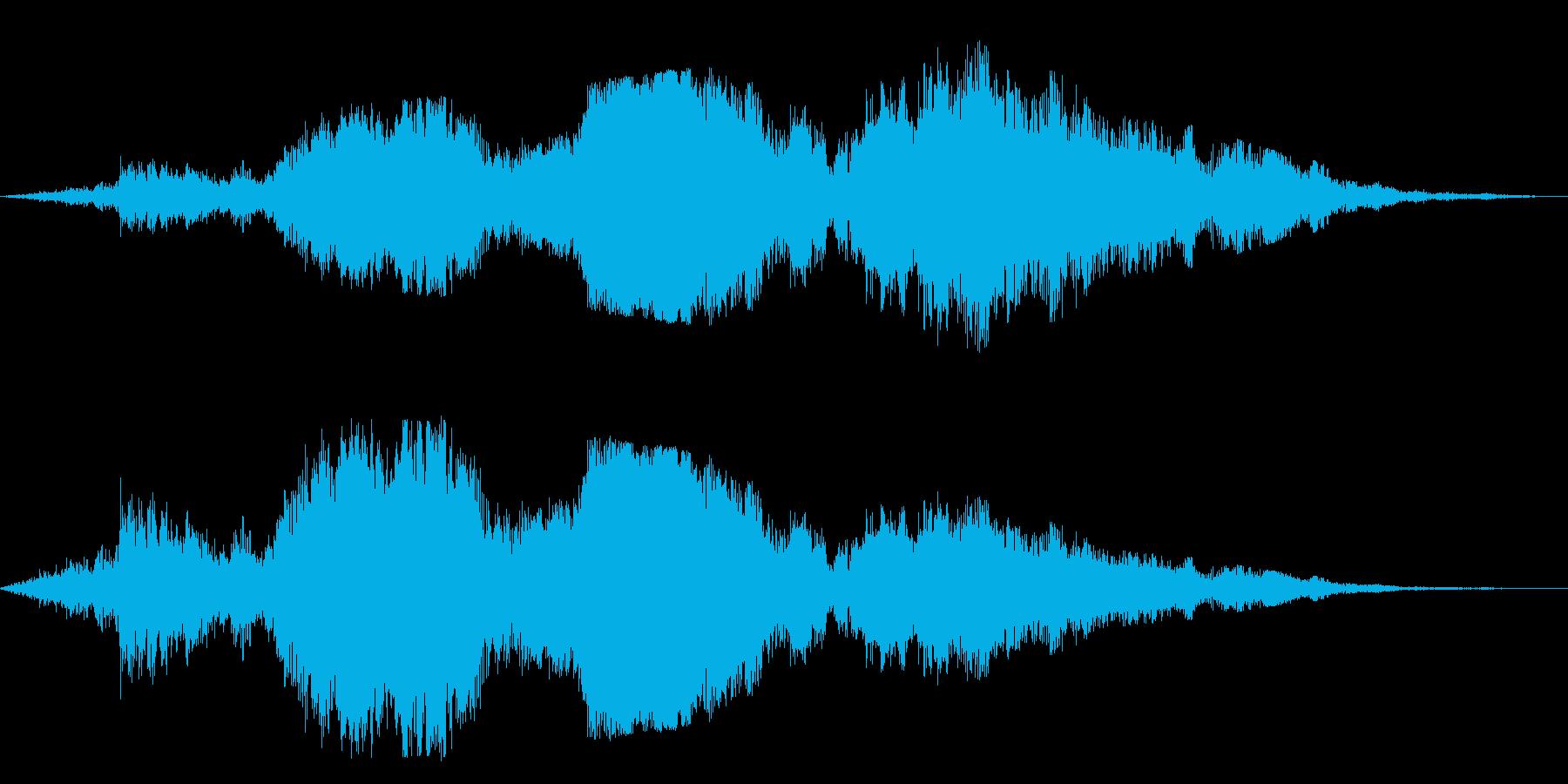 F1などのレース、エンジン音に最適!41の再生済みの波形