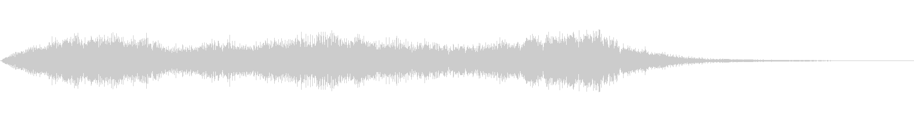 アイキャッチ的な明るめのオーケストラの未再生の波形