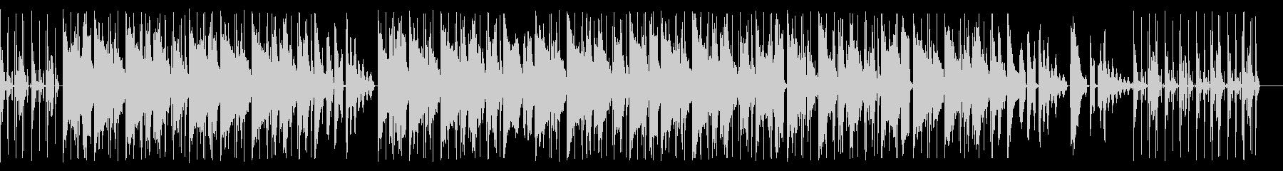 切ない旋律のローファイなHIPHOPの未再生の波形