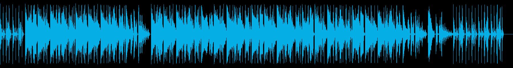 切ない旋律のローファイなHIPHOPの再生済みの波形