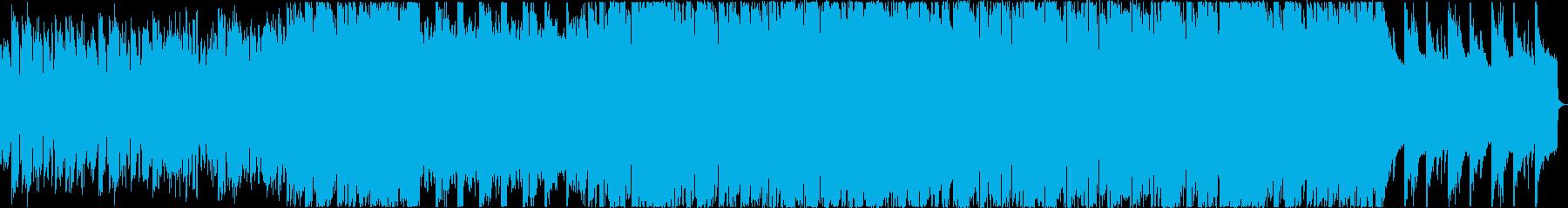 美しくノストラジックなフルート主体ワルツの再生済みの波形