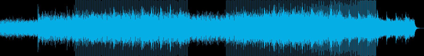 ニュース映像ナレーションバック向け-11の再生済みの波形