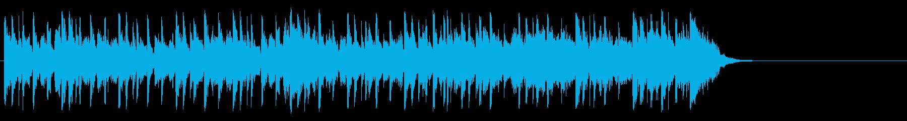 クルーズする優雅なポップ(サビ)の再生済みの波形
