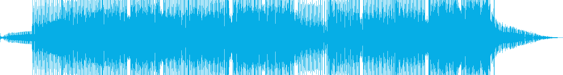科学・浮遊感漂うテクノ 裏拍リズム B+の再生済みの波形