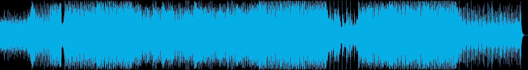 爽やか・トロピカル・感動・OP・壮大の再生済みの波形