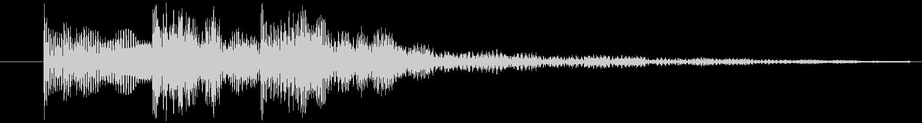 ゲームの決定音(2)ですの未再生の波形