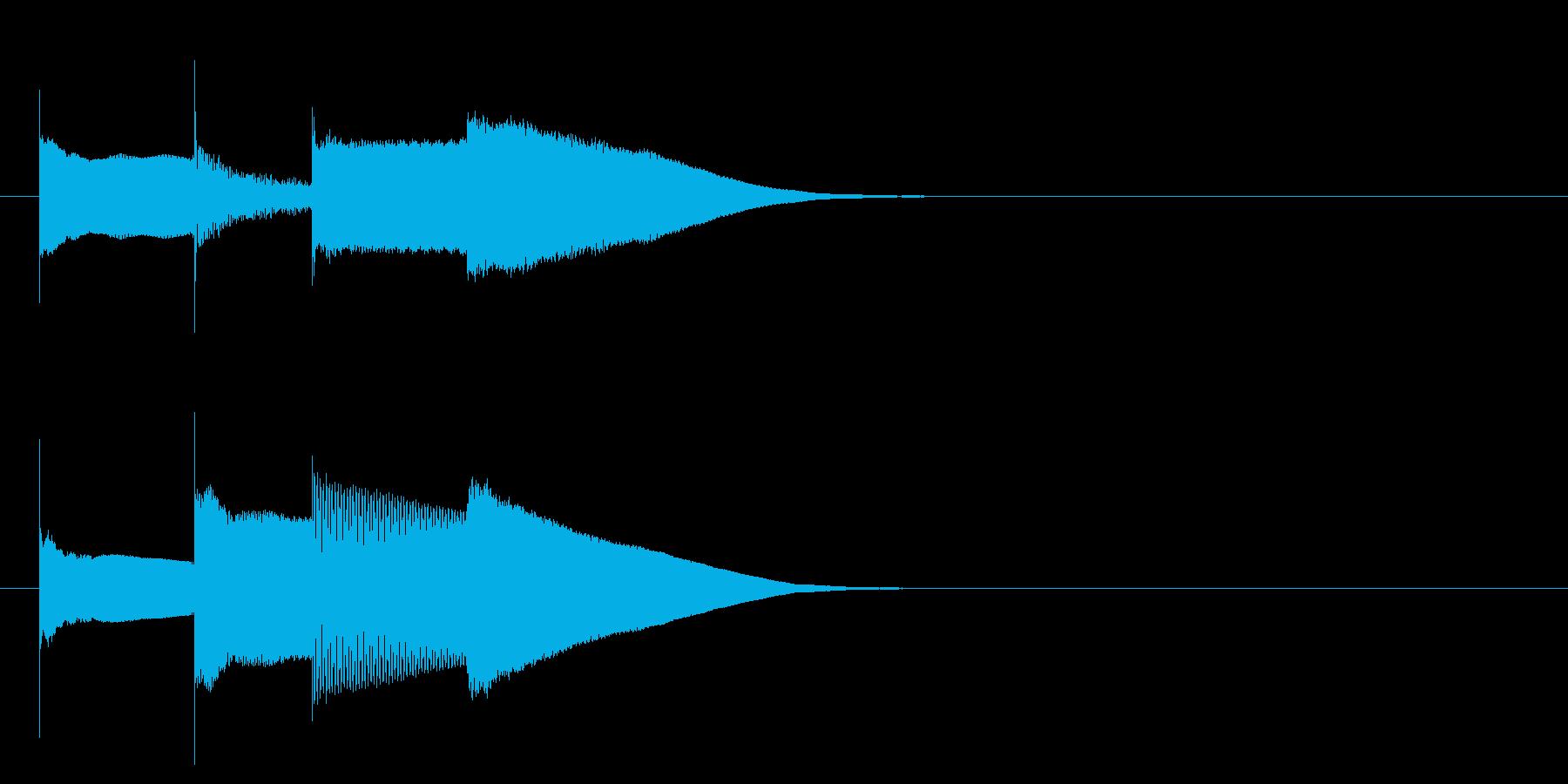 グロッケン系 決定音15(大)の再生済みの波形