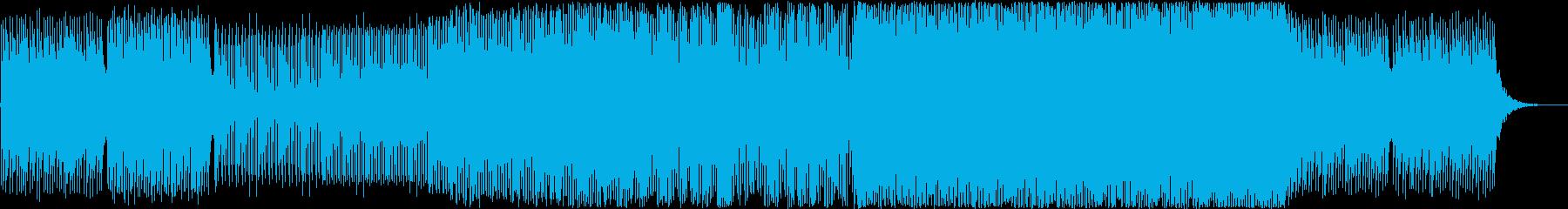 ホッとする様なトランスの再生済みの波形