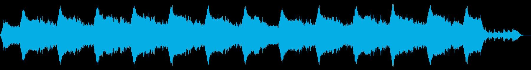 神秘的な遺跡をイメージしたサウンドの再生済みの波形