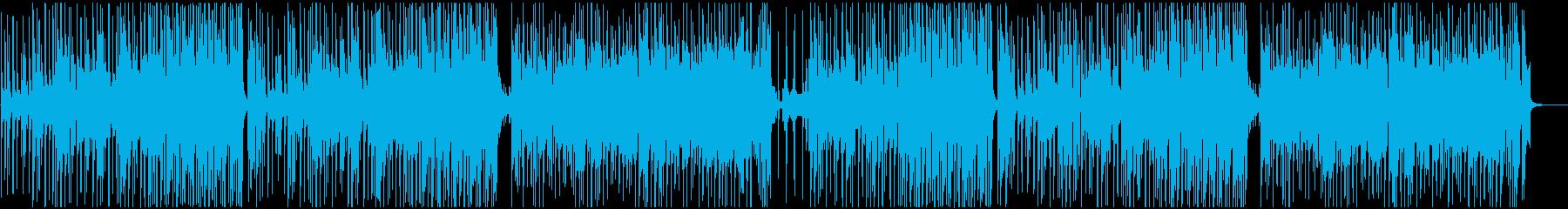 CM】レトロ風爽やかコーラスのBGMの再生済みの波形