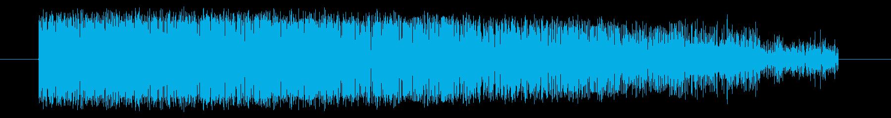 【NES 格闘01-7(歓声)】の再生済みの波形