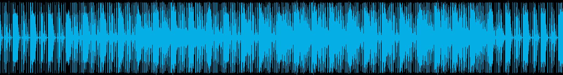 哀愁ピアノが特徴的なファンキーダブの再生済みの波形