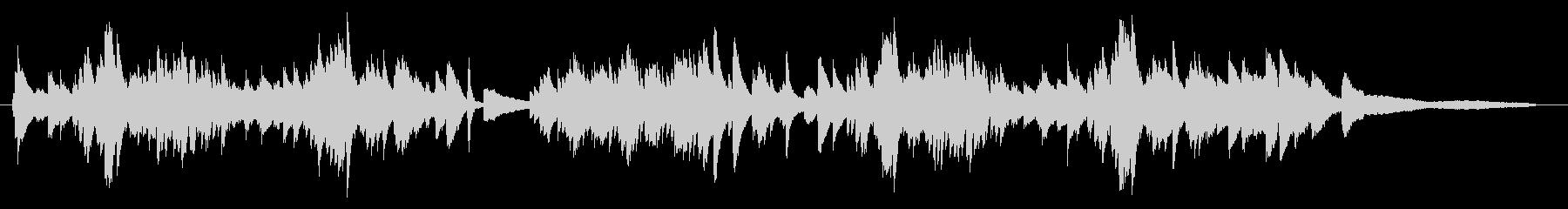 ショパン風 優雅なワルツ ピアノソロの未再生の波形